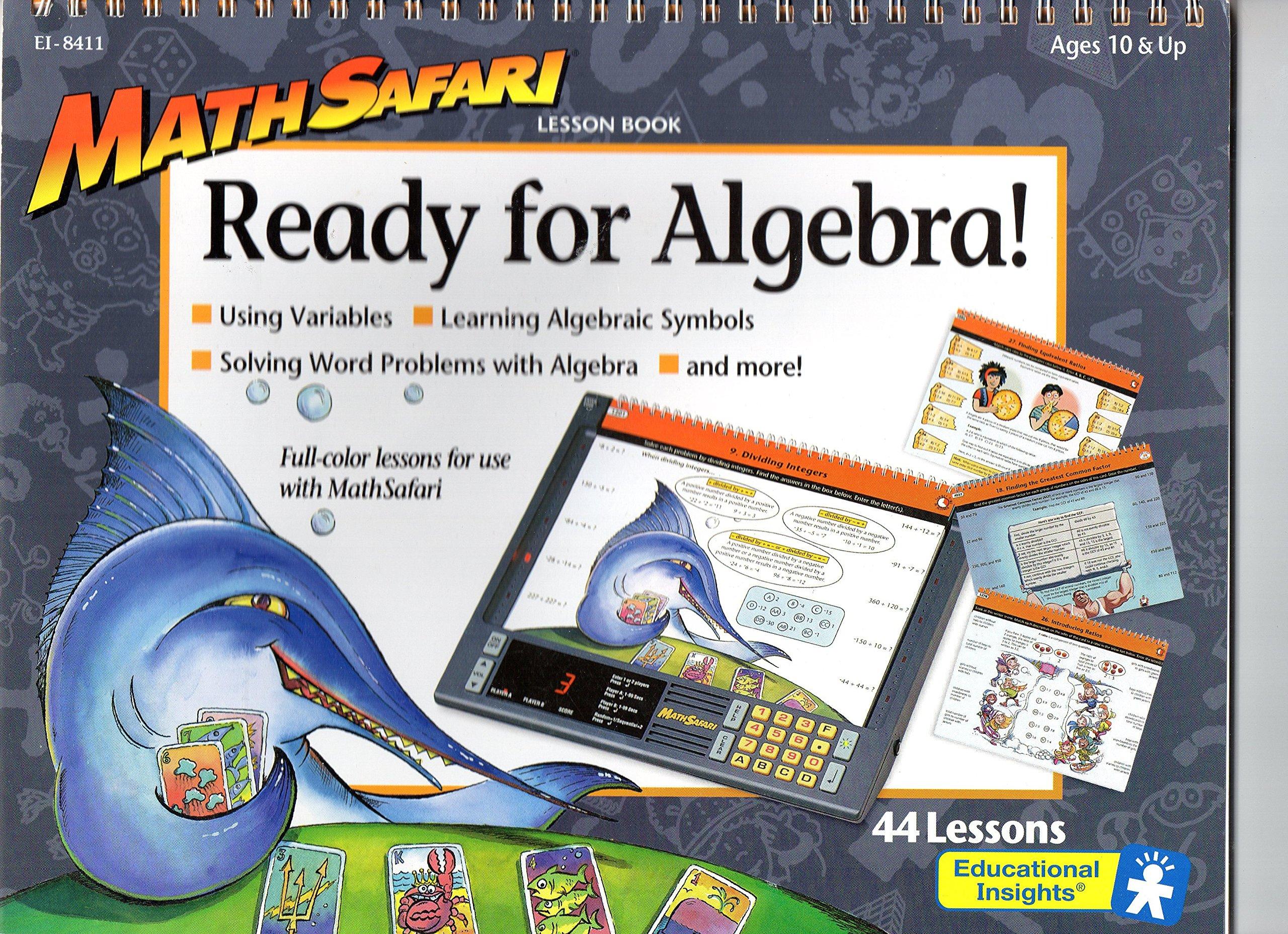 Math Safari: Ready for Algebra!: Educational Insights: 9781567671995 ...