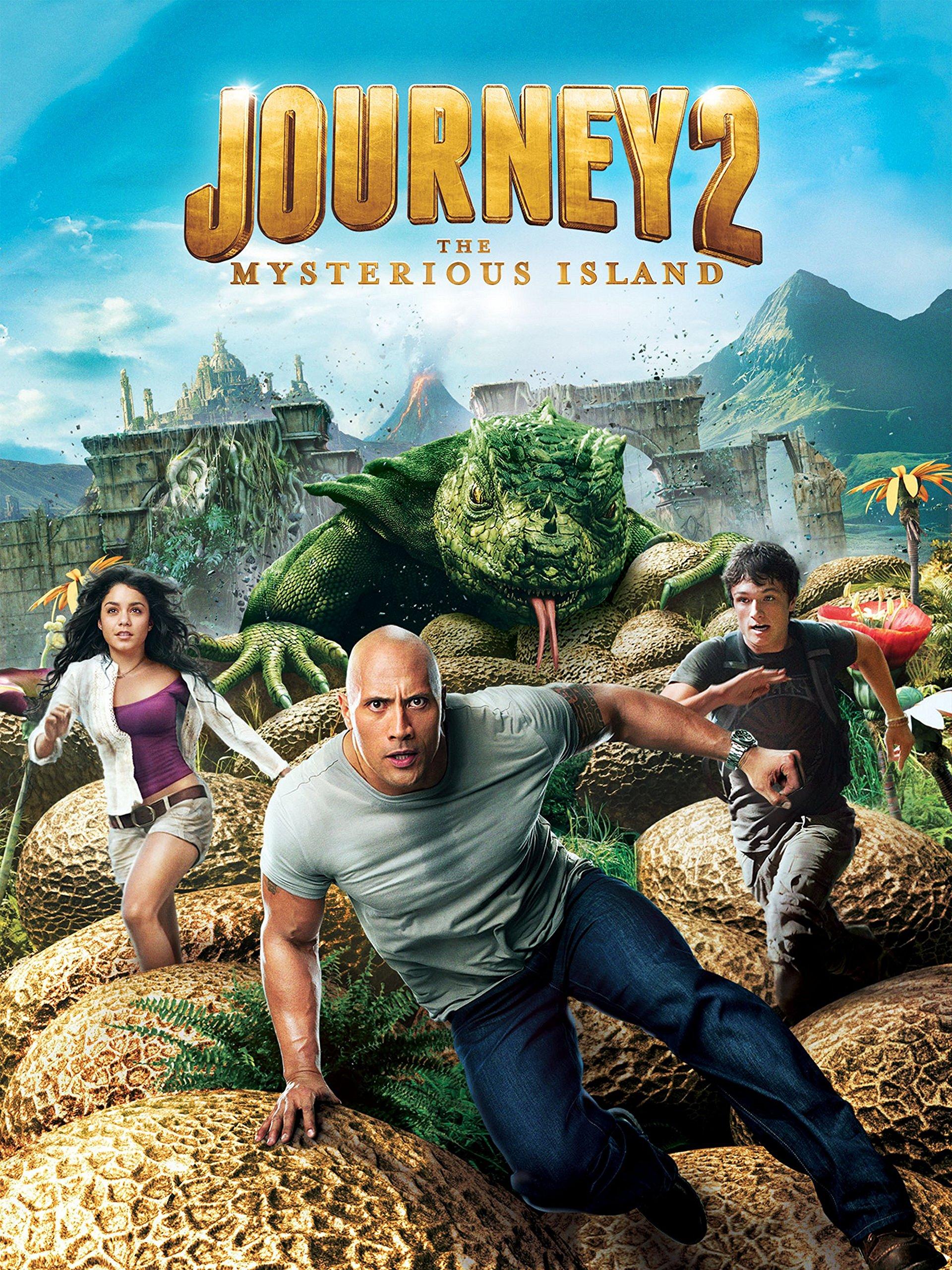 Amazon.com: Journey 2: The Mysterious Island: Dwayne Johnson ...