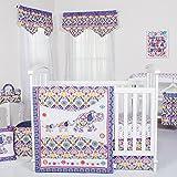 Trend Lab Waverly Baby Santa Maria 5 Piece Bedding Set, Multicolor