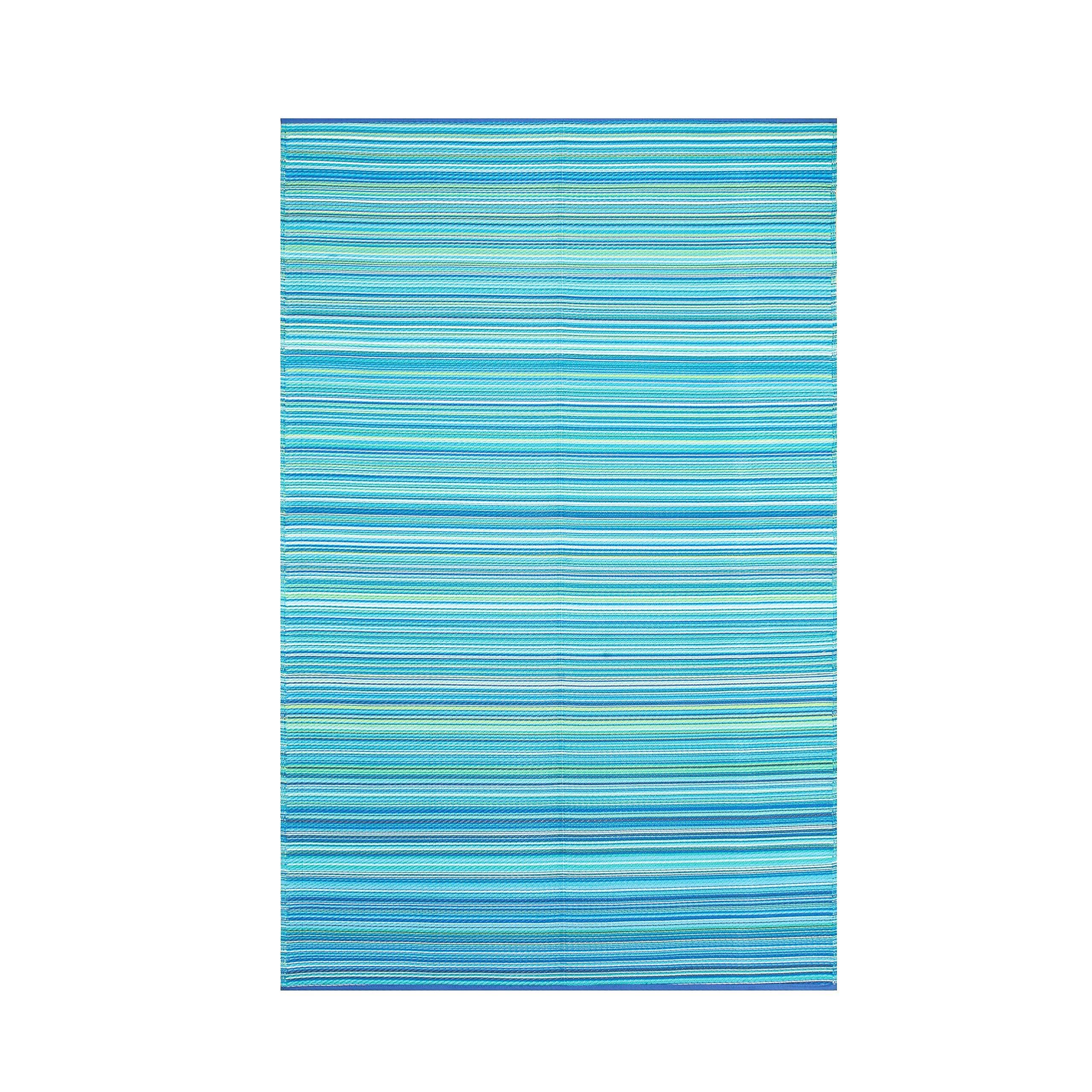 Smart Design SMM006 Indoor/Outdoor Rugs- (Blue,6x9)