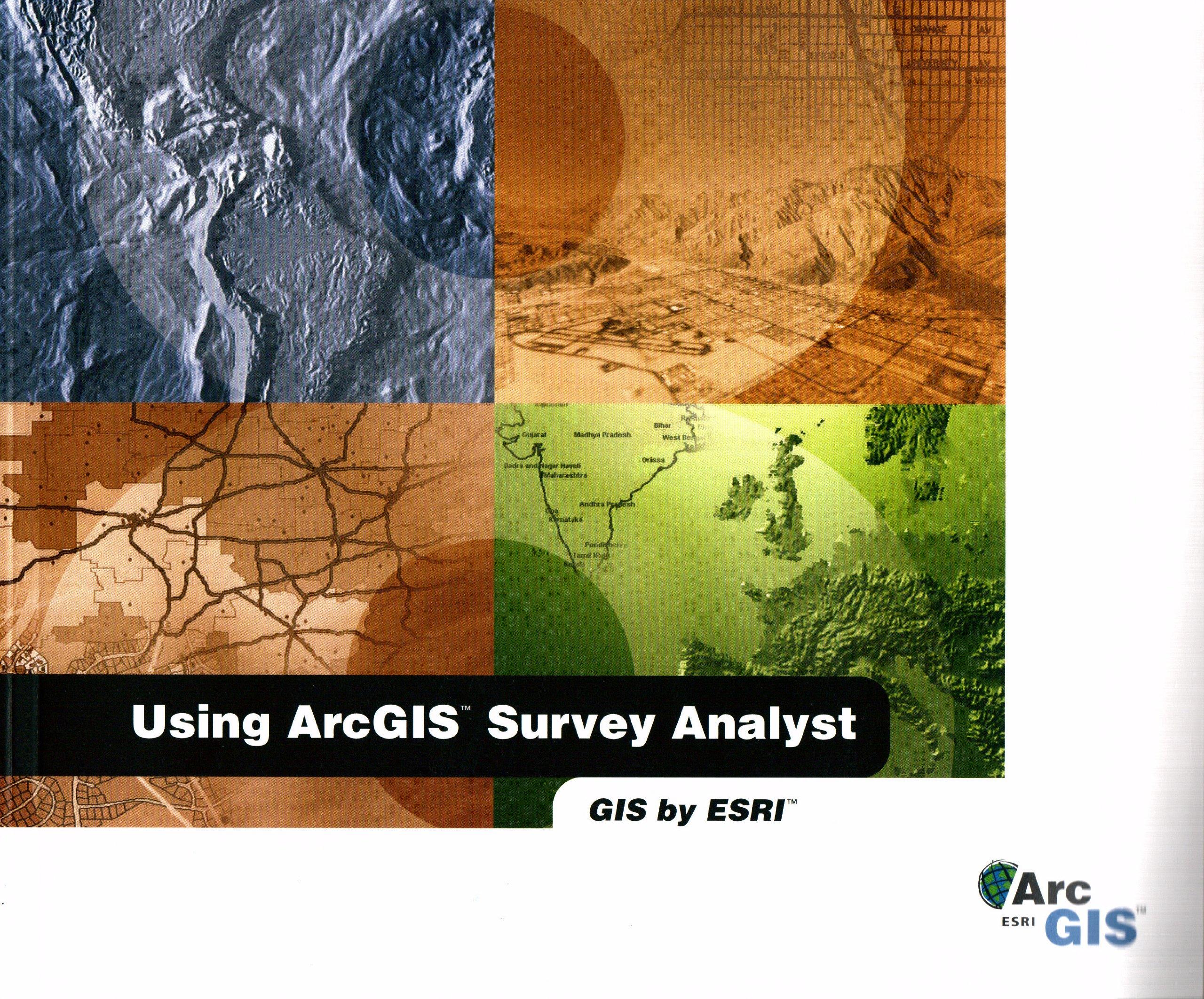 Download Using ArcGIS survey analyst: GIS by ESRI pdf