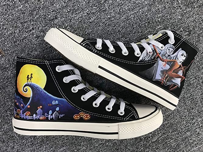 Hand Painted Shoes The Nightmare Before