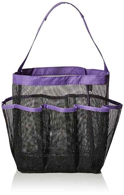 Beau Mayin Quick Dry Hanging Toiletry And Bath Organizer With 8 Storage  Compartments, Shower Tote,
