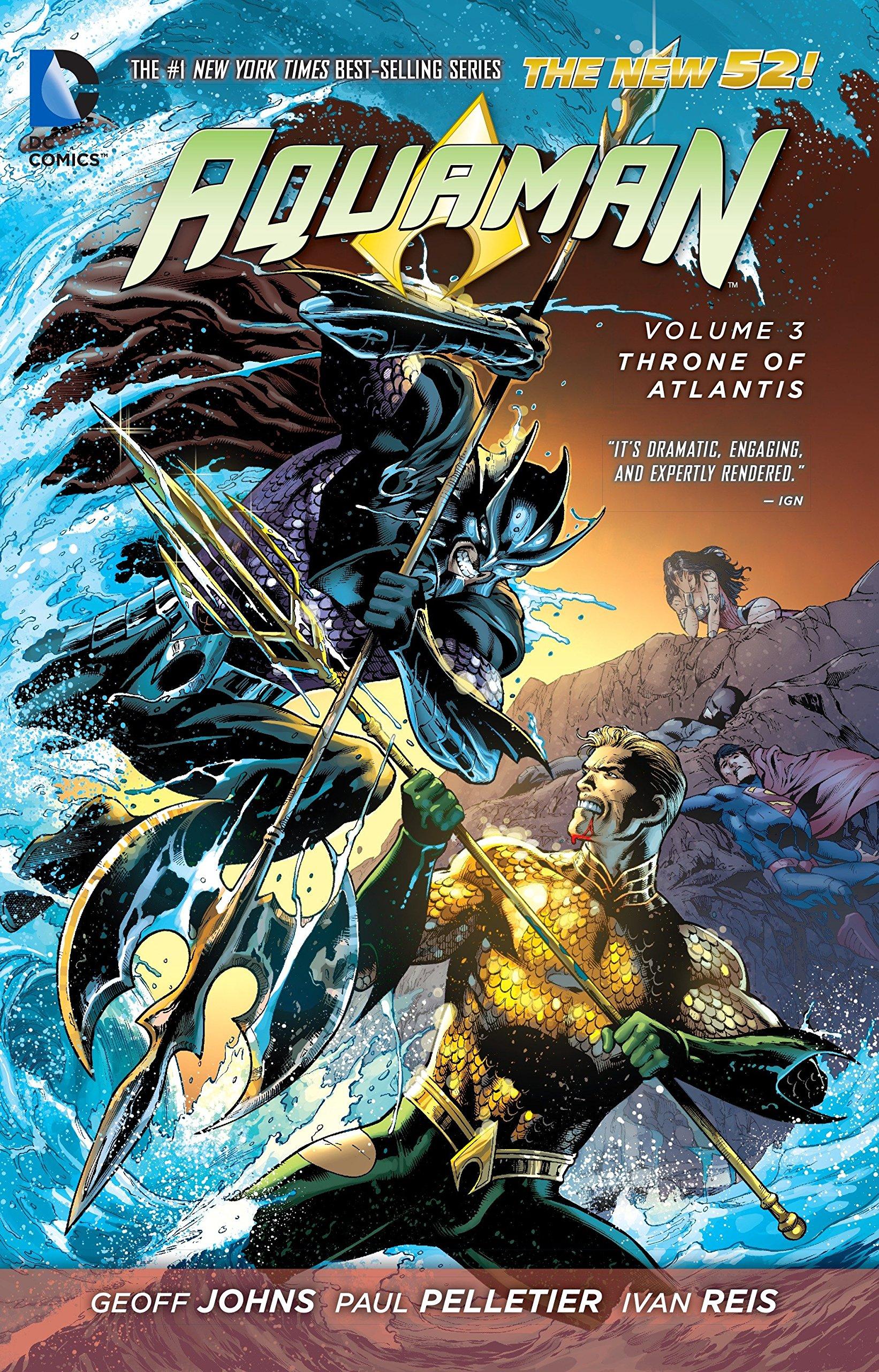 Aquaman - Throne of Atlantis