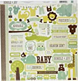 Bundle de Joy Boy papier cartonné Stickers 30,5 x 30,5 cm -element