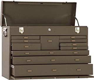 product image for Kennedy Manufacturing 52611B 11-Drawer Machinist's Chest with Friction Slides, Brown Wrinkle