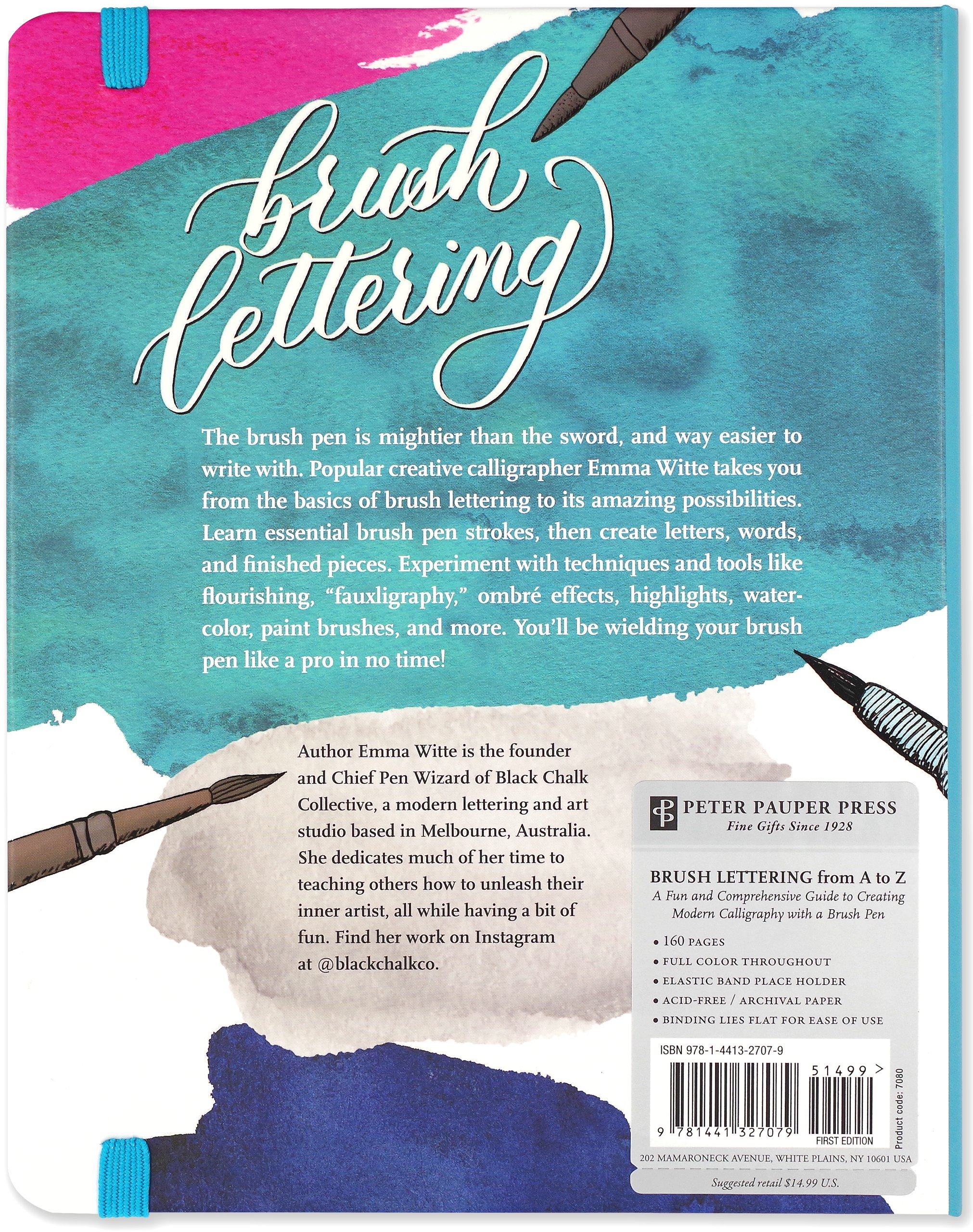 Brush Lettering from A to Z: A Fun and Comprehensive Guide to ...