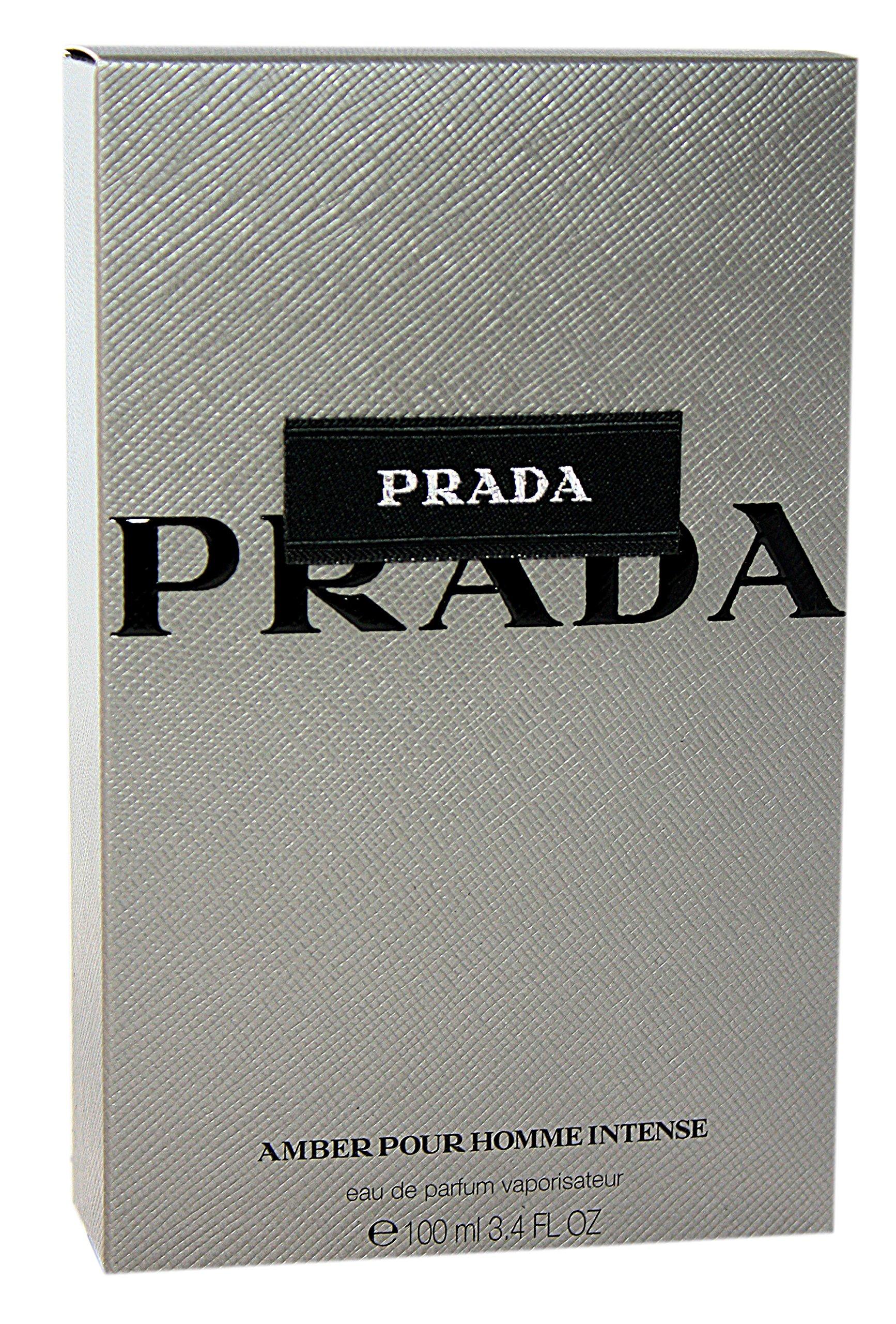 Prada Intense Eau De Parfum Spray for Men, Amber, 3.4 Ounce by Prada (Image #2)