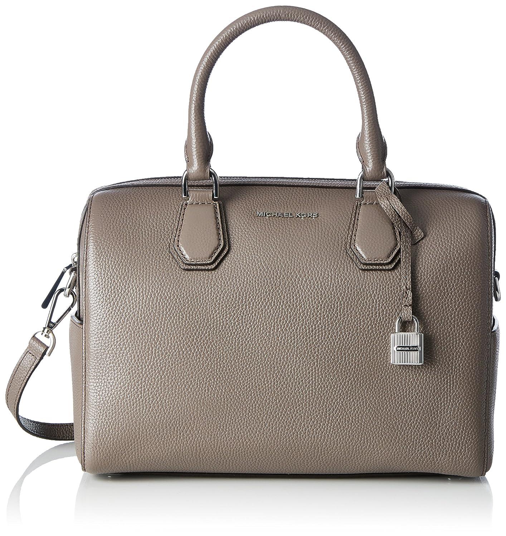 54443802952fdb Michael Kors Mercer Cinder Medium Leather Duffle Crossbody Bag Purse  Handbag: Handbags: Amazon.com