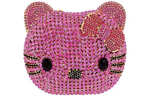 Celebrating You Shop carteras de noche, accesorios para mujer Hello Kitty Crystal Couture Celebrando tu tienda: Amazon.es: Zapatos y complementos