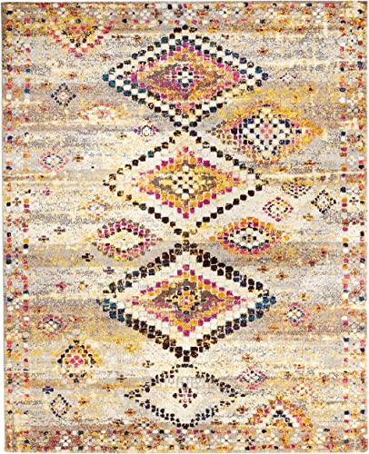 nuLOOM Azteca Diamonds Area Rug, 8 x 10 , Multi
