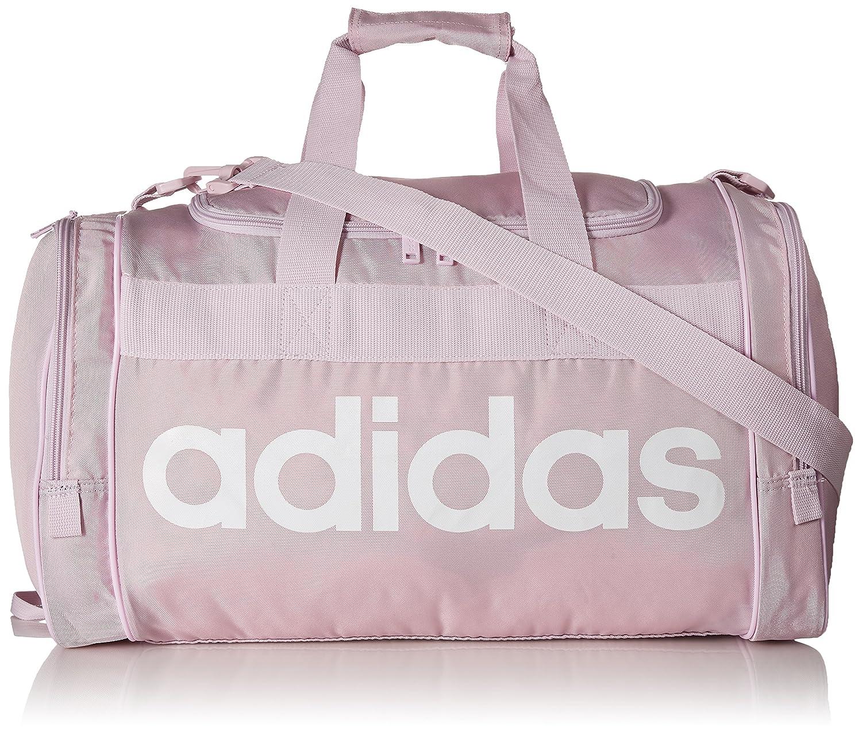 468860a13865c8 Amazon.com: adidas Santiago Duffel Bag, Aero Pink/White, One Size: Clothing