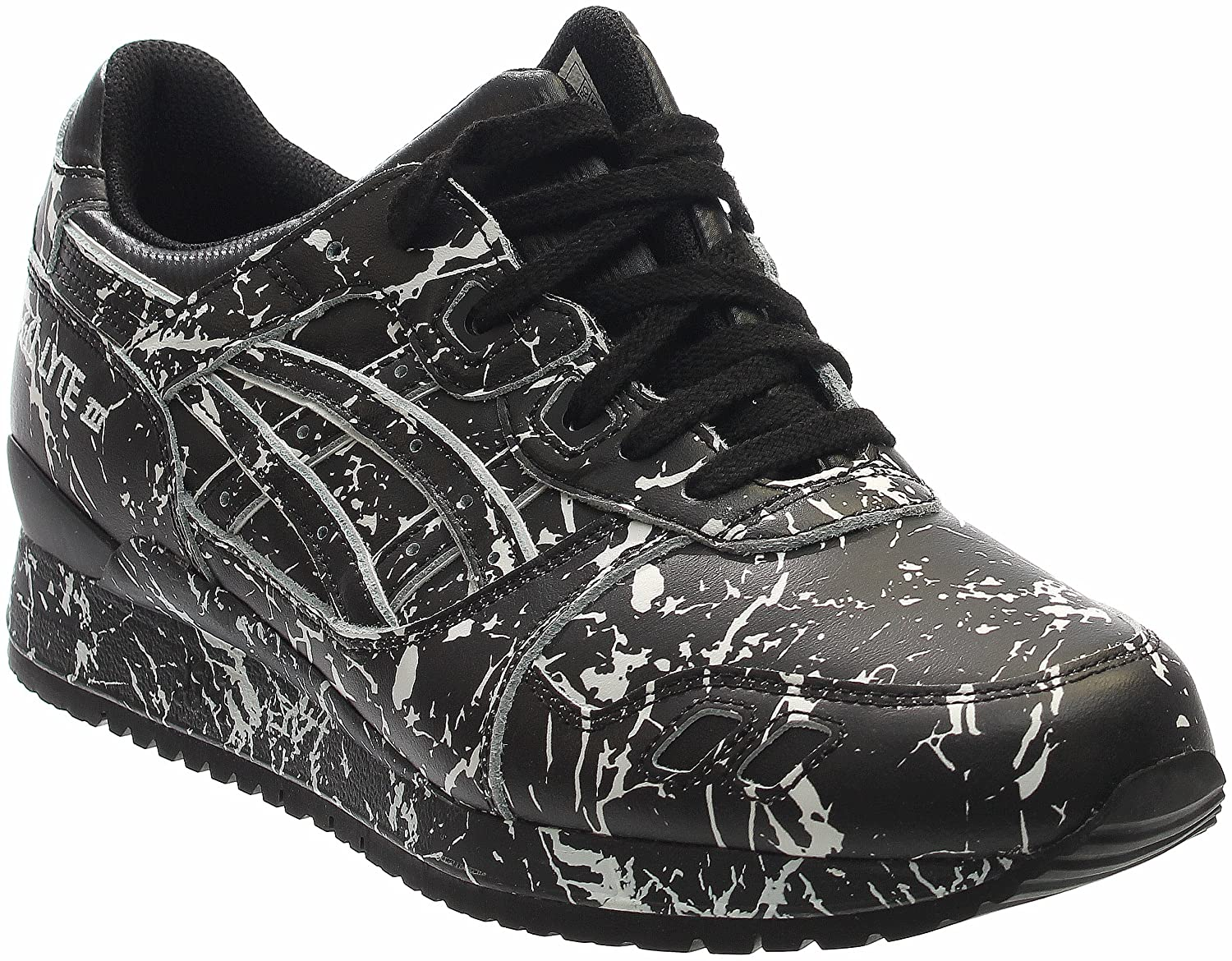 ASICS Men's Gel-Lyte III Running Shoe B016X57CJ2 11.5 M US Women / 10 M US Men|Black