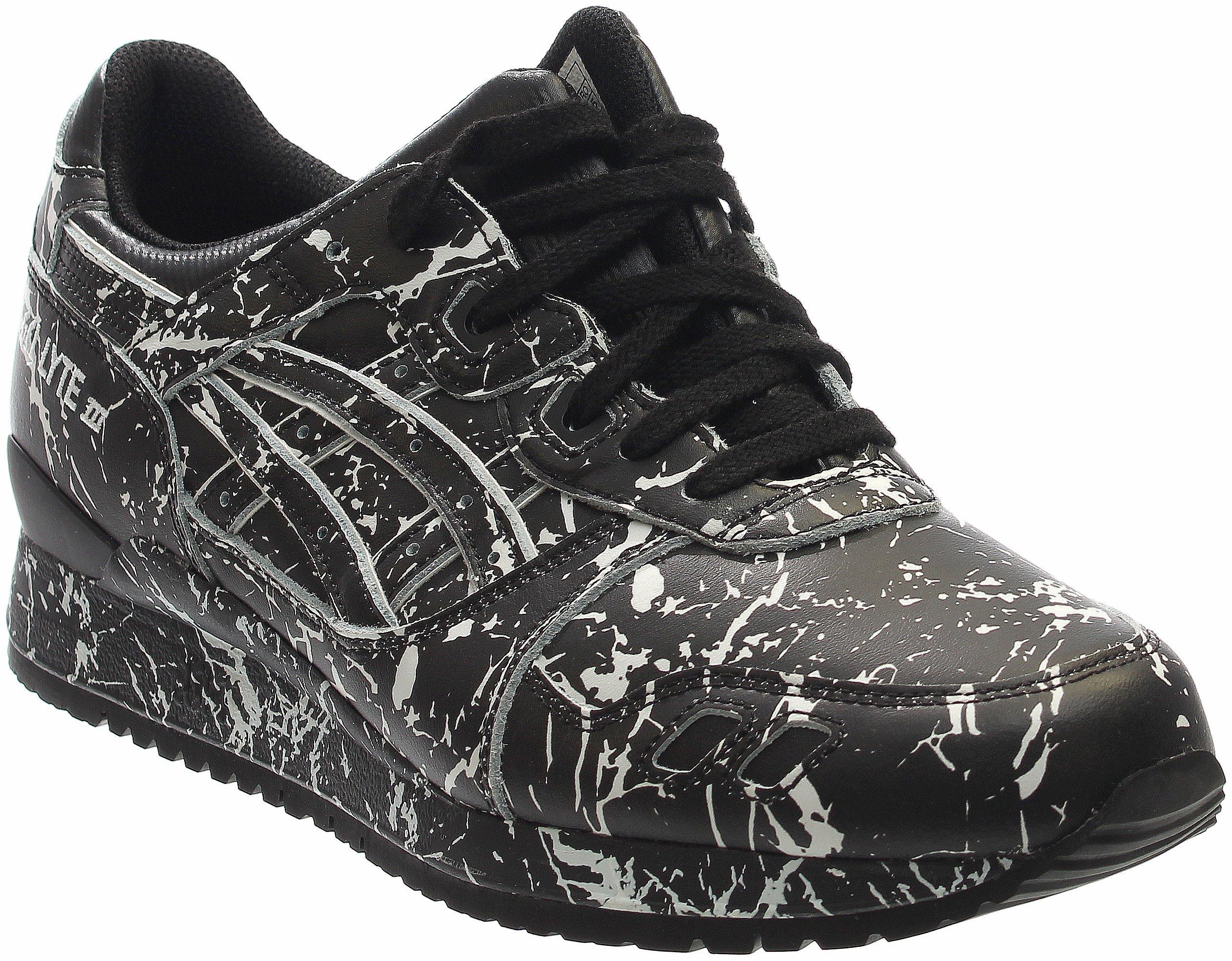 814dc36a0ed5f ASICS Men's Gel-Lyte Iii Black/Ankle-High Leather Running Shoe - 6M
