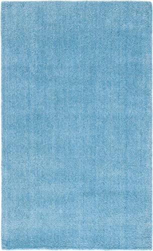 Safavieh Himalaya Collection HIM610A Handmade Turquoise Premium Wool Area Rug 3' x 5'