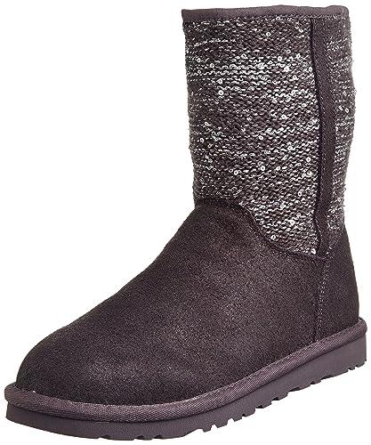 587e90d2544 UGG Australia Women's 1005393 Boots Dark Grey Grey Size: 5.5-6 ...
