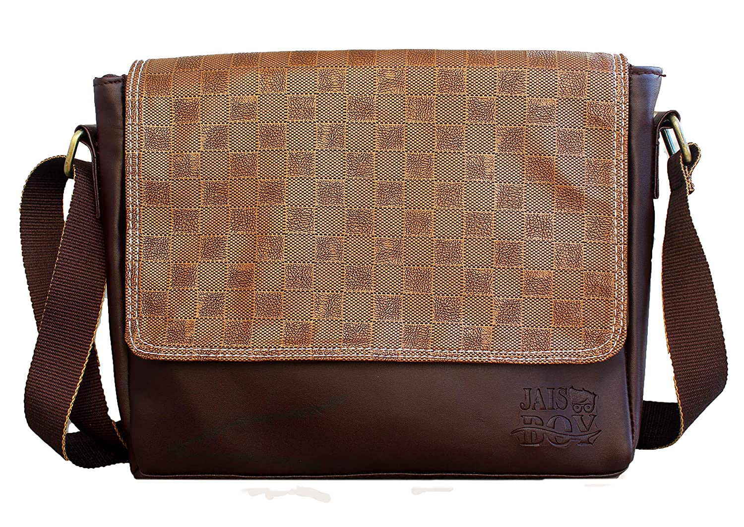 b08429848364 Buy Future Fashion Pu Leather Trendy Rust Cross-Body Sling Bag Side Bag for  Men Women   Girls for Daily Use 10 Inch (Brown) Online at Low Prices in  India ...