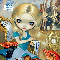 Adult Jigsaw Jasmine Becket-Griffith: Alice in a Dali Dream: 1000 Piece Jigsaw