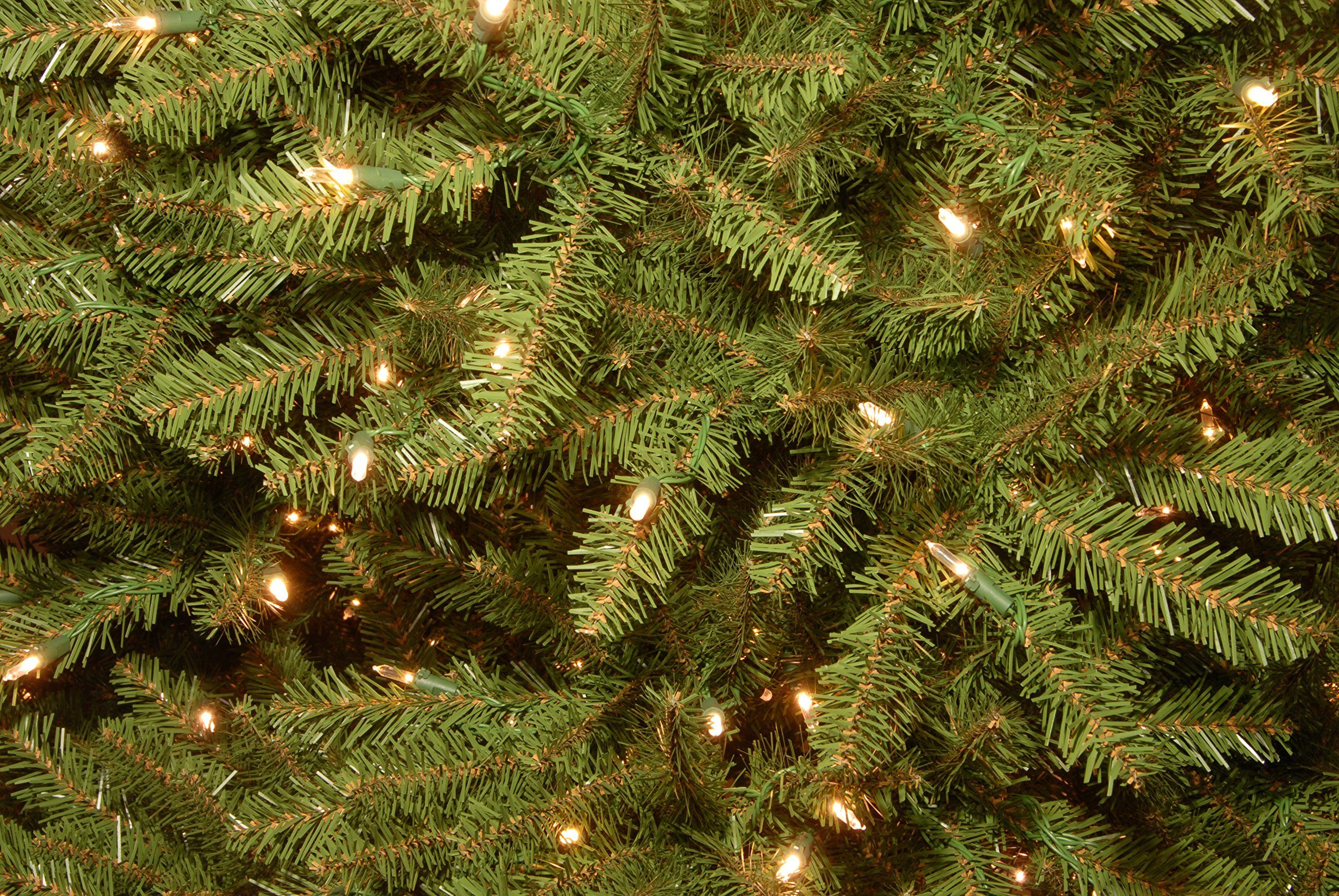National Tree 6.5 Foot Dunhill Fir Tree with 650 Clear Lights (DUH3-65LO) by National Tree Company (Image #1)