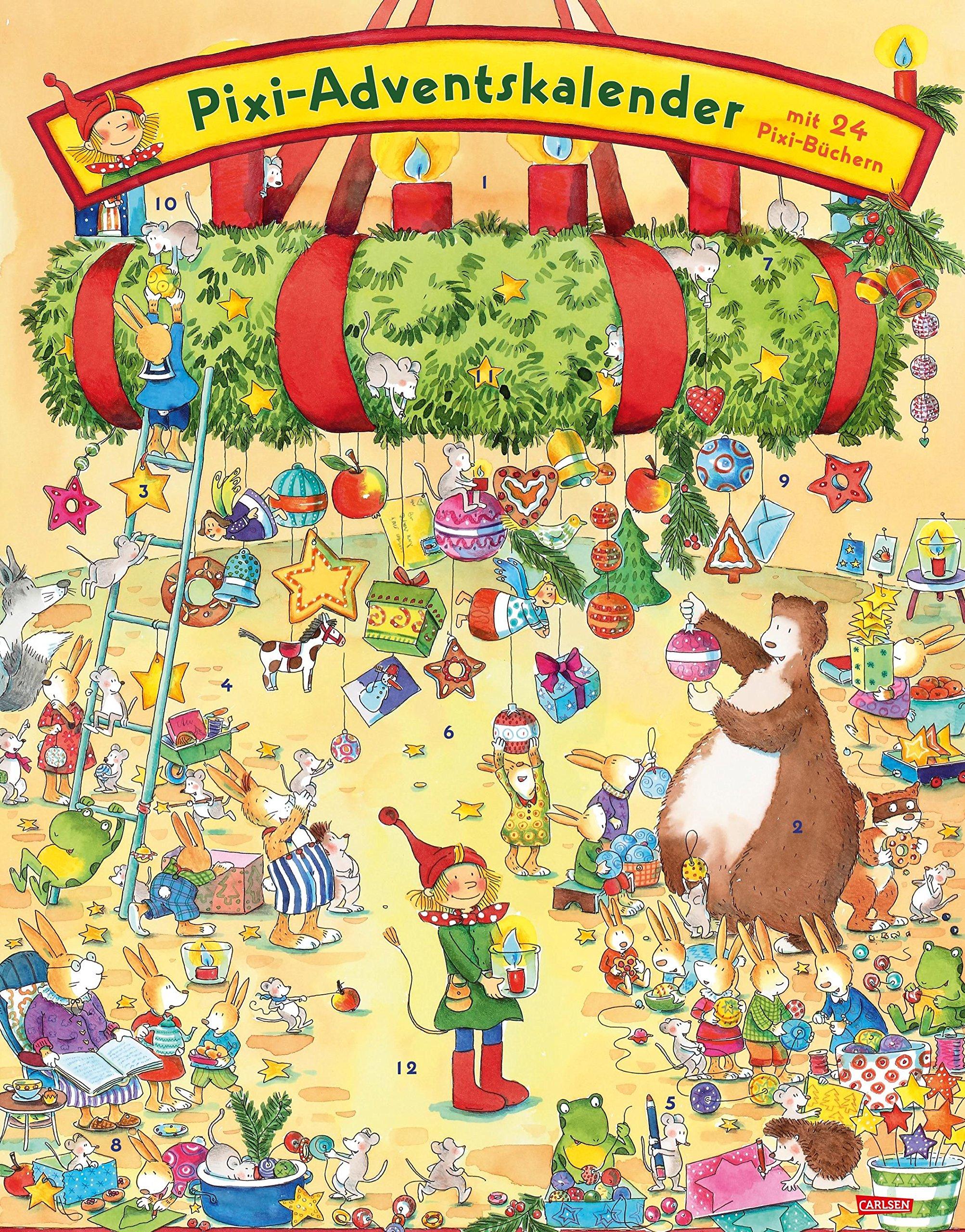 Pixi Adventskalender 2018: Adventskalender mit 22 Pixi-Büchern und 2 Maxi-Pixi Kalender – 25. Juli 2018 diverse Carlsen 3551041601 JUVENILE FICTION / General