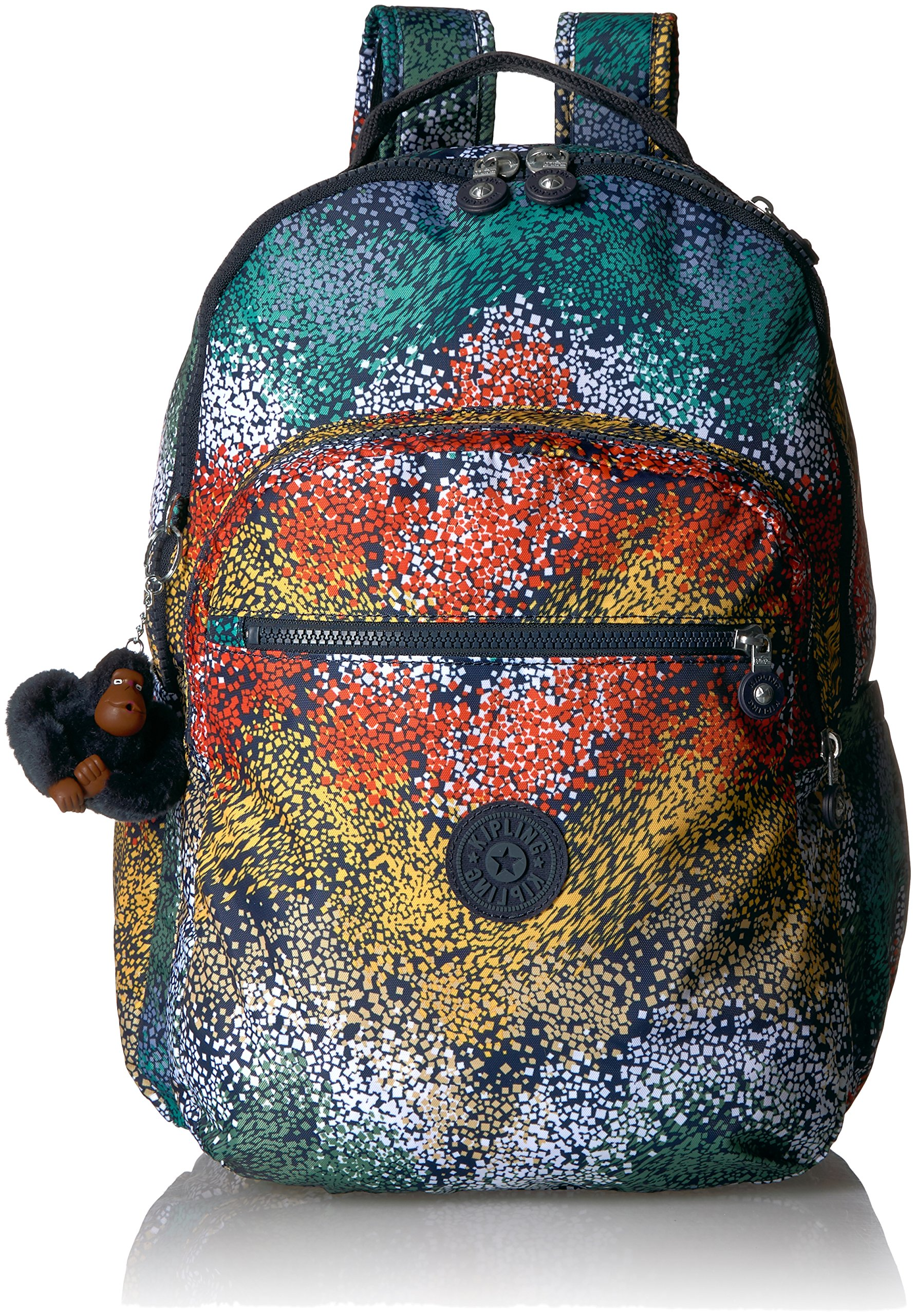 Seoul L Printed Laptop Backpack Backpack, WTRCLRRIVE, One Size