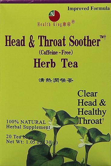 Amazon.com: Salud King Head & Garganta Chupete Herb bolsitas ...