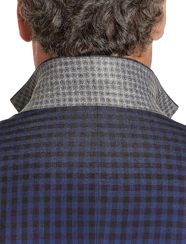 Oak Hill by DXL Big and Tall Medium Check Sport Coat