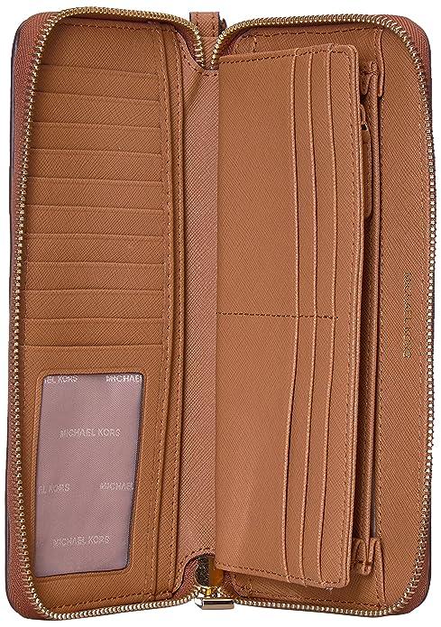 Amazon.com: Michael Kors - Monedero para mujer, color marrón ...