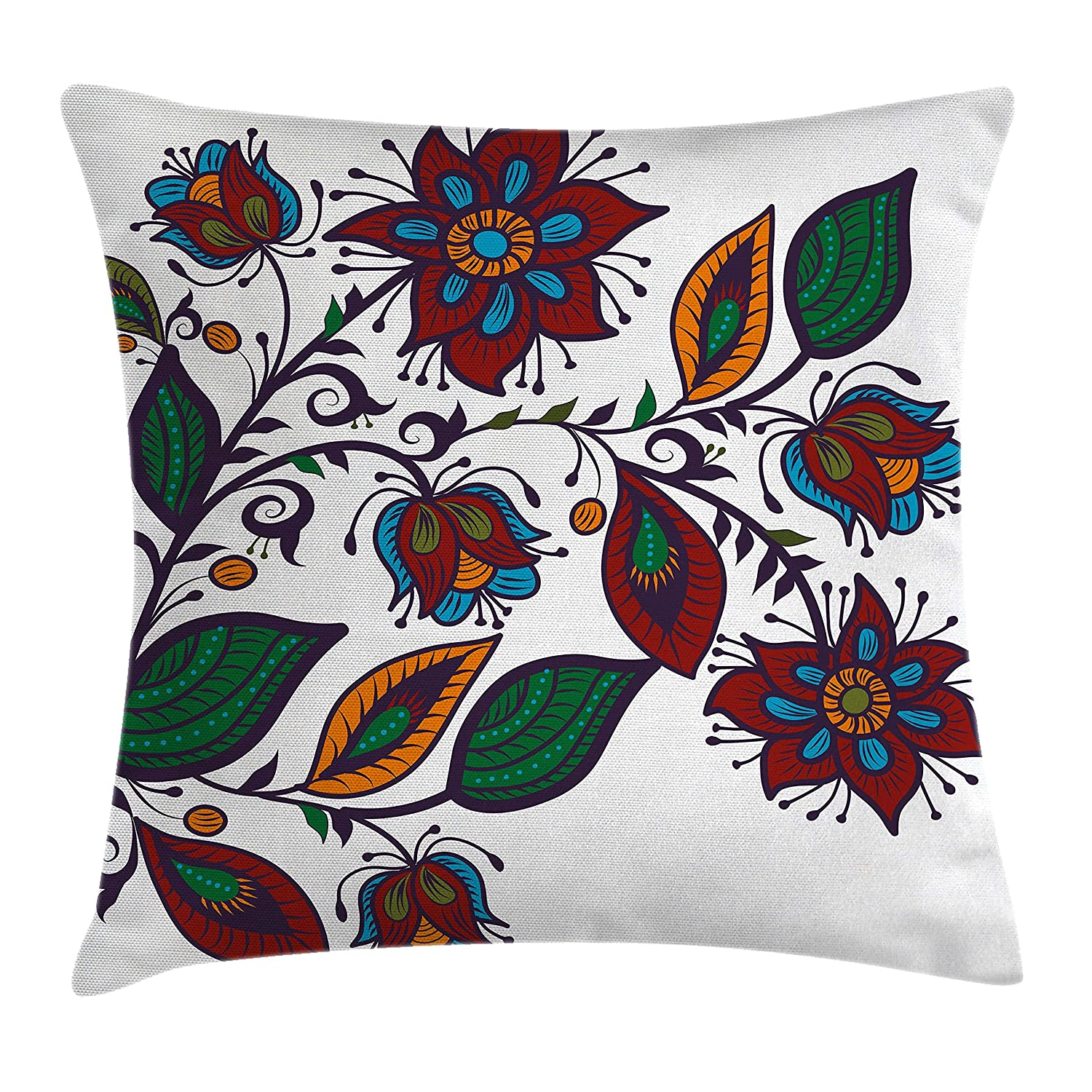 Amazon com: Ambesonne Vintage Throw Pillow Cushion Cover