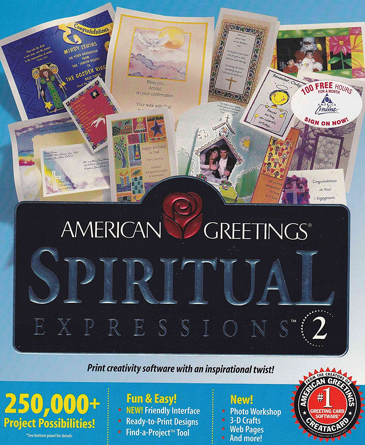Amazon spiritual expressions 2 by american greetings win 95 amazon spiritual expressions 2 by american greetings win 9598nt cd rom kristyandbryce Images