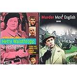 Hetty Wainthropp Investigates : The Complete Second Season : A British Murder She Wrote , PLUS Murder Most English Complete U