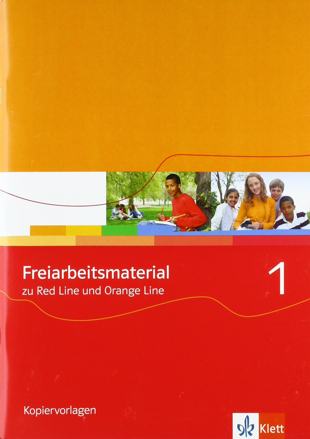 Orange Line/Red Line 1: Freiarbeitsmaterial Band 1 (Orange Line. Ausgabe ab 2005)