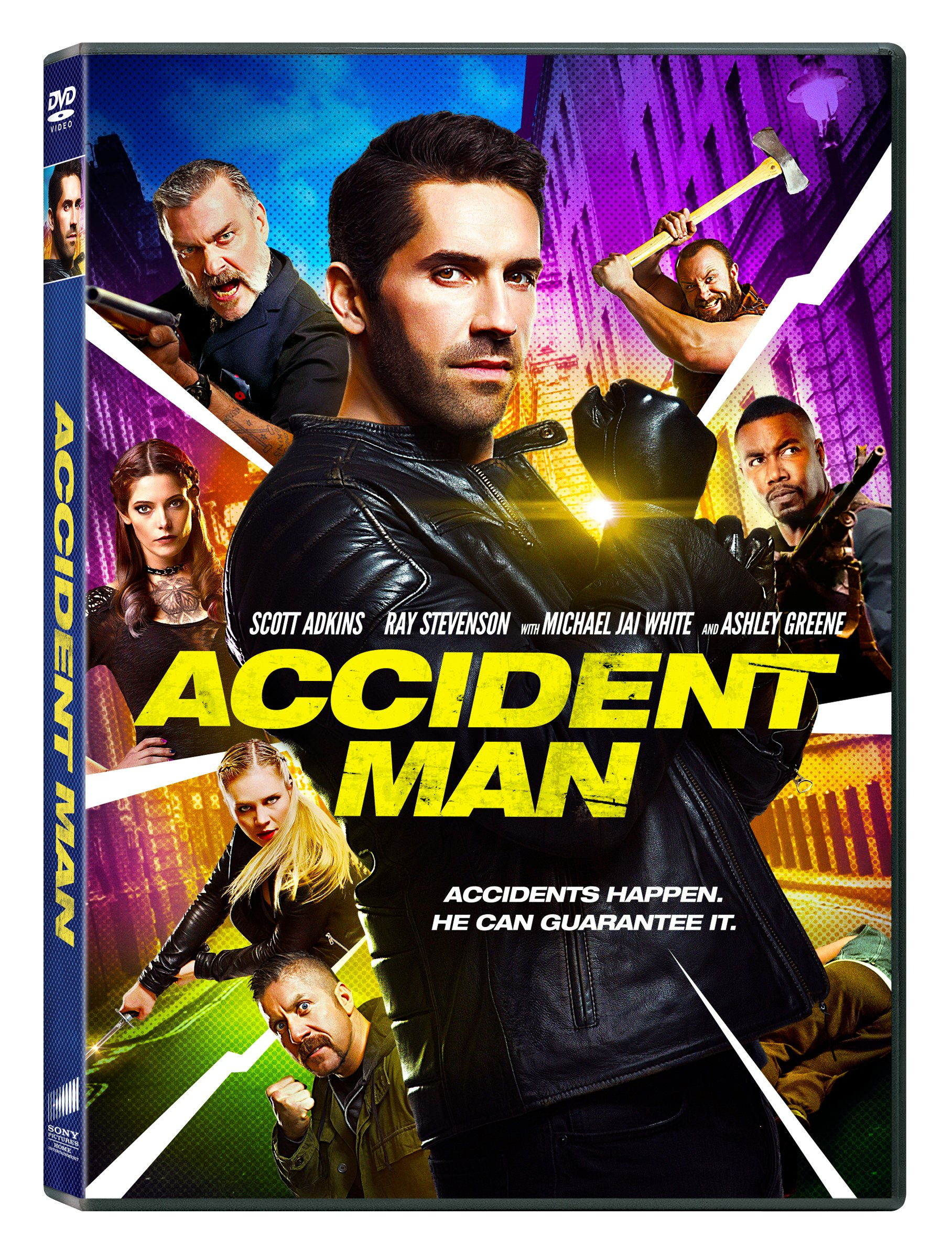 Book Cover: Accident Man