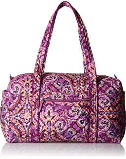 Amazon.com  Vera Bradley Iconic Large Travel Duffel, Signature ... 74335b7523