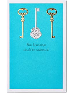 american greetings new beginnings new home congratulations card with foil