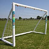 Samba Football Goal - Fun Goal Range – The Original Samba Goal Post as used by your School or Football Club – Fully weatherproof outdoor garden goal with rot-proof football net.
