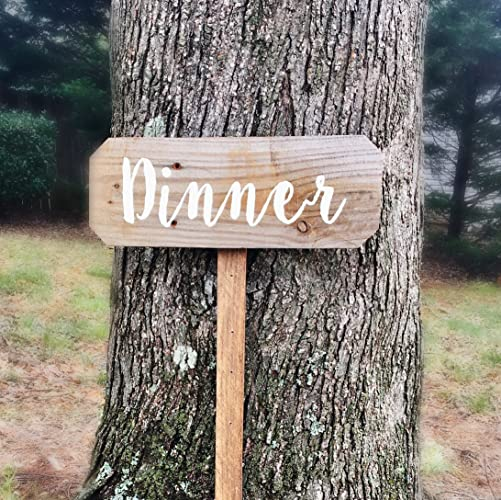 Dinner Sign, Rehearsal Dinner Decorations, Wooden Signs For Kitchen, Rustic  Signs For Kitchen