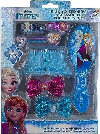 Disney style hair accessories Disney princess frozen bows Disney bow /& hair tie set ponytail