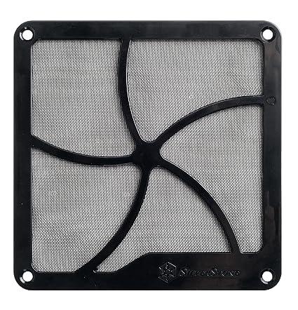 Amazon.com  Silverstone Tek FF122 120mm Fan Filter with Magnet for ... 02b1ea25aa5