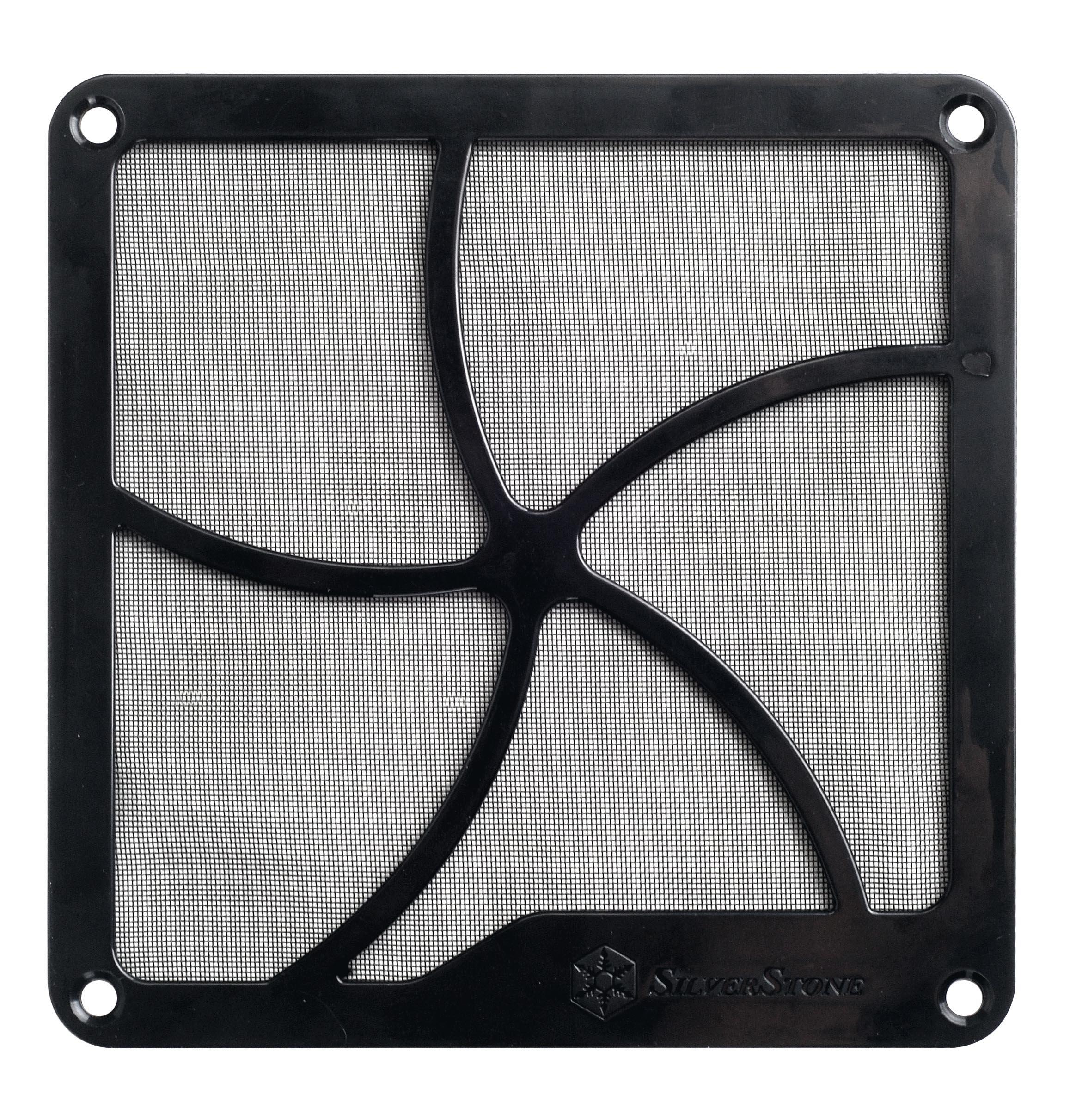 S SIENOC 10 x Coperchio dello Slot PCI con Viti 2 x 120 mm Coperchio della Ventola con Filtro Antipolvere Ultra fine Montaggio Magnetico Nero
