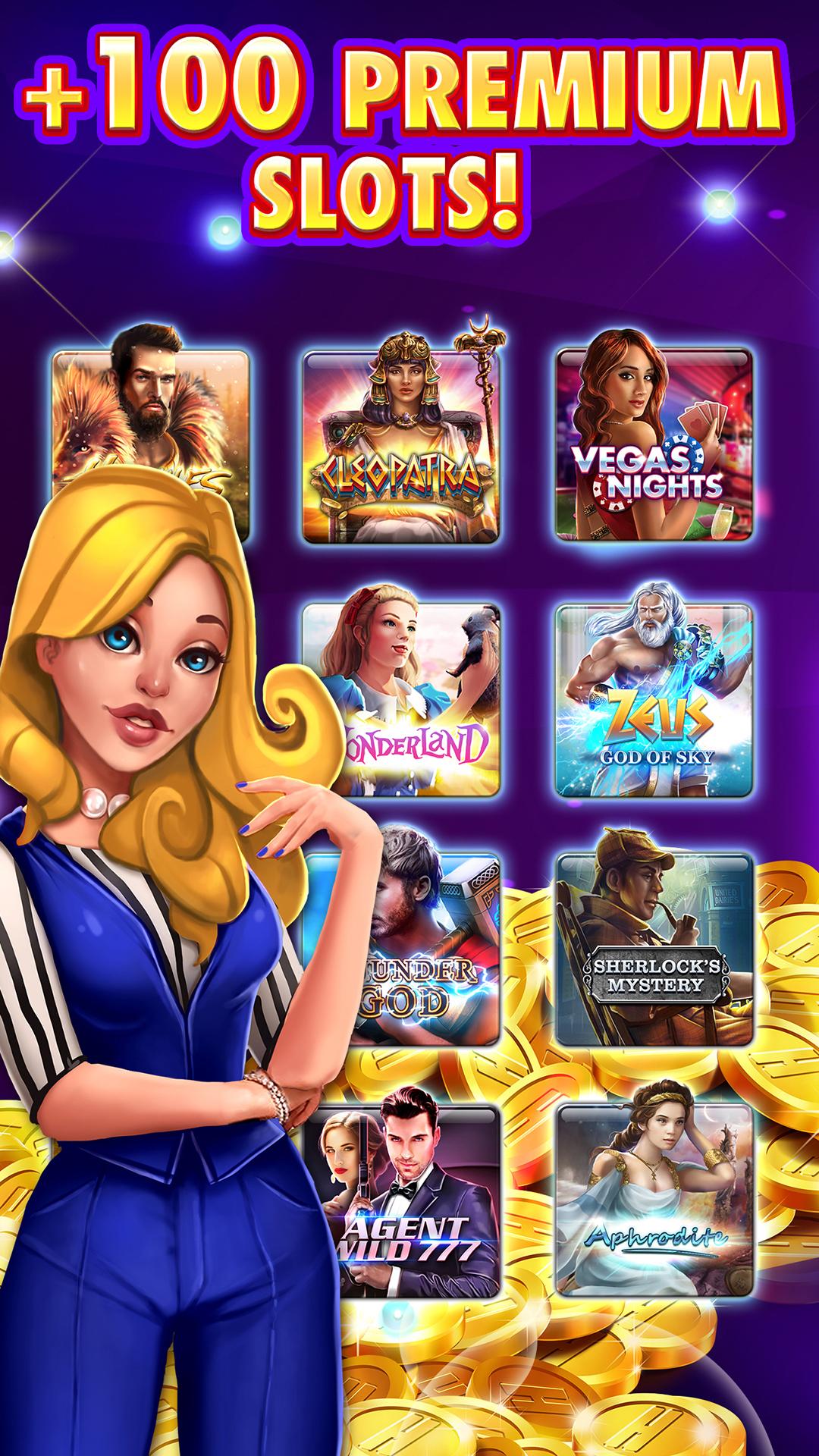 slots - huuuge casino free slot machines blackjack and poker