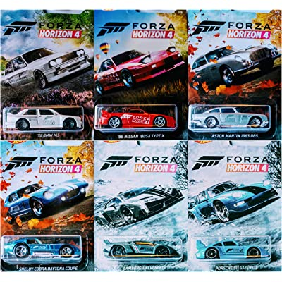 Hot Wheels Forza Horizon 4 Complete 6 Car Set Bundle: Toys & Games