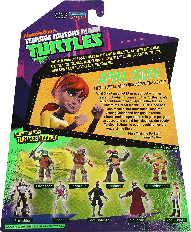 Amazon.com: Teenage Mutant Ninja Turtles de abril de o neil ...
