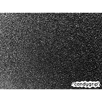 Candy Grip Coarse Longboard Grip Tape (Black Licorice) : Longboard Skateboards : Sports & Outdoors