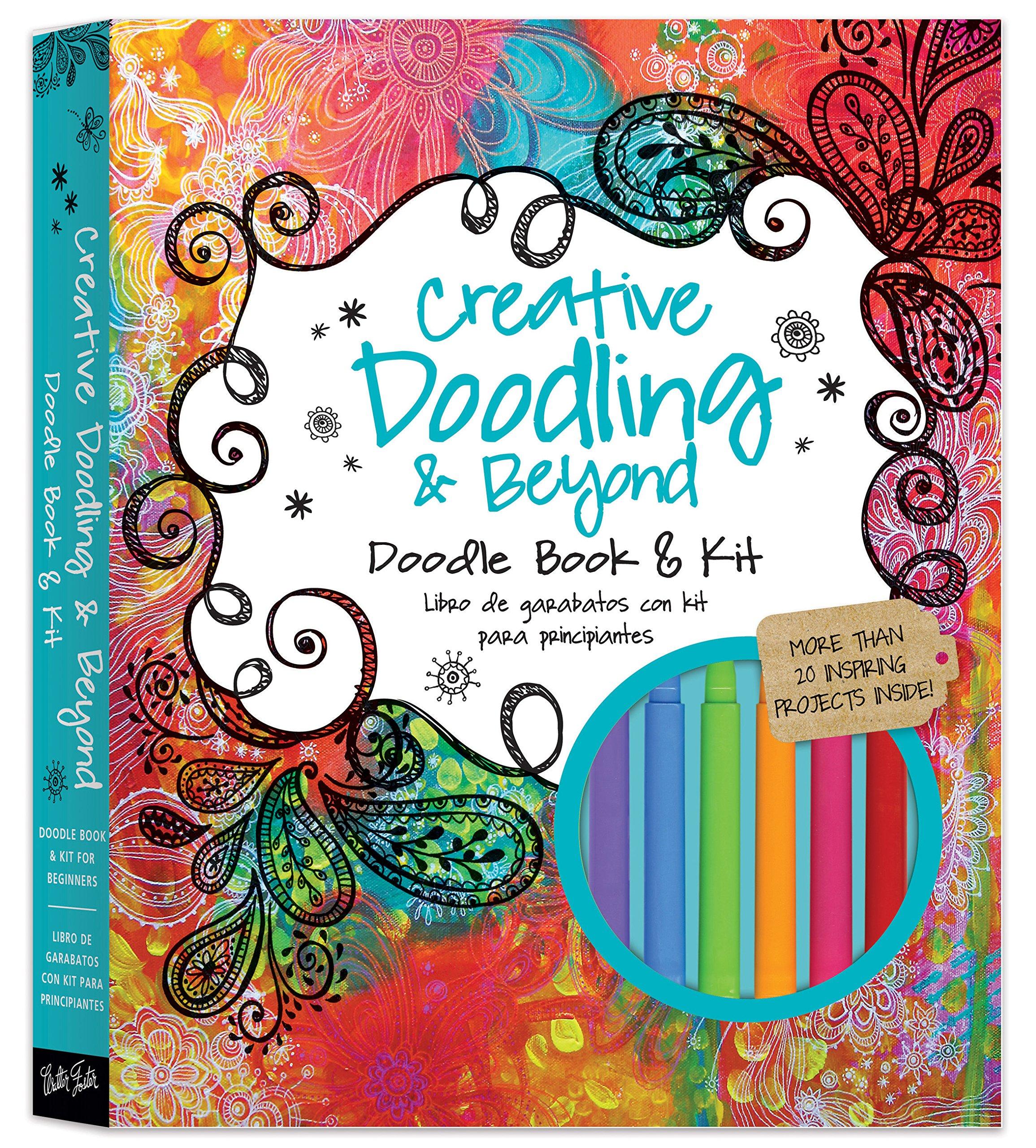 Buy Creative Doodling & Beyond Doodle Book & Kit More