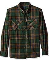 Smith 's Workwear de los hombres 100% algodón 4oz Camisa (franela)