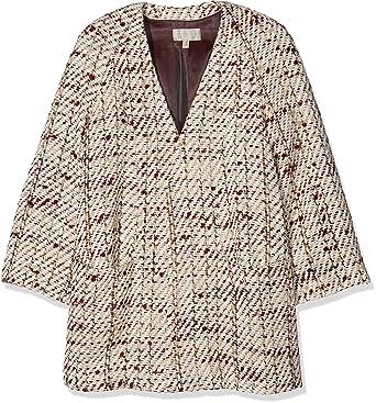 Pedro del Hierro Abrigo Fantasia Granate, Mujer, Wales (80) M: Amazon.es: Ropa y accesorios