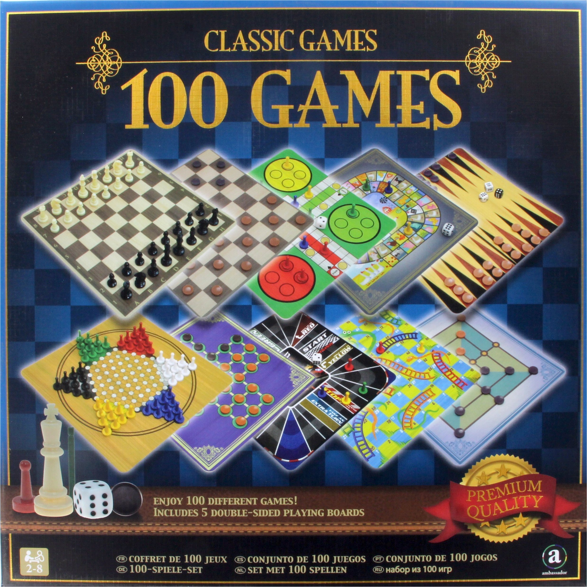 Merchant Ambassador Classic Games Collection - 100 Game Compendium