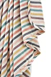 Henry and BROS. Large Double-Layer Toddler Blanket, Sunset Stripe