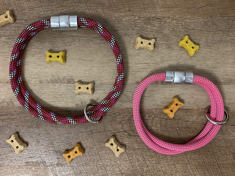 Pink//Purple Patterns Climbing Rope Collar